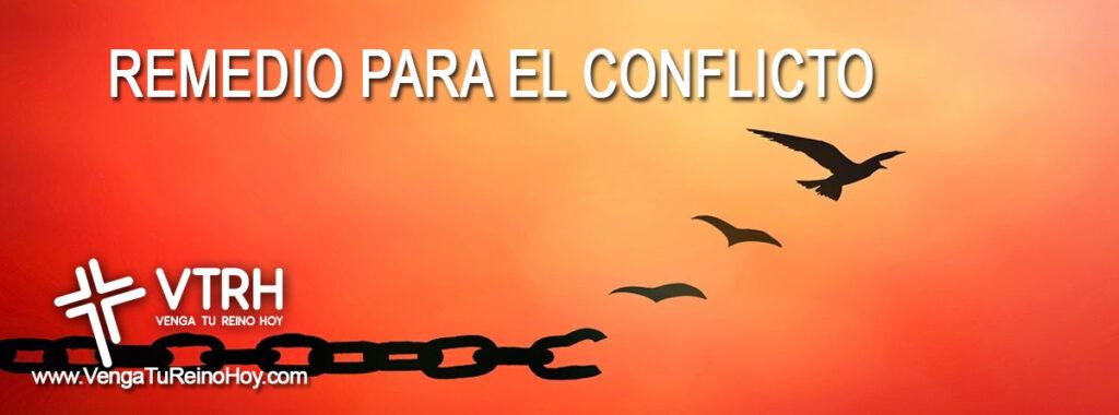 REMEDIO PARA EL CONFLICTO